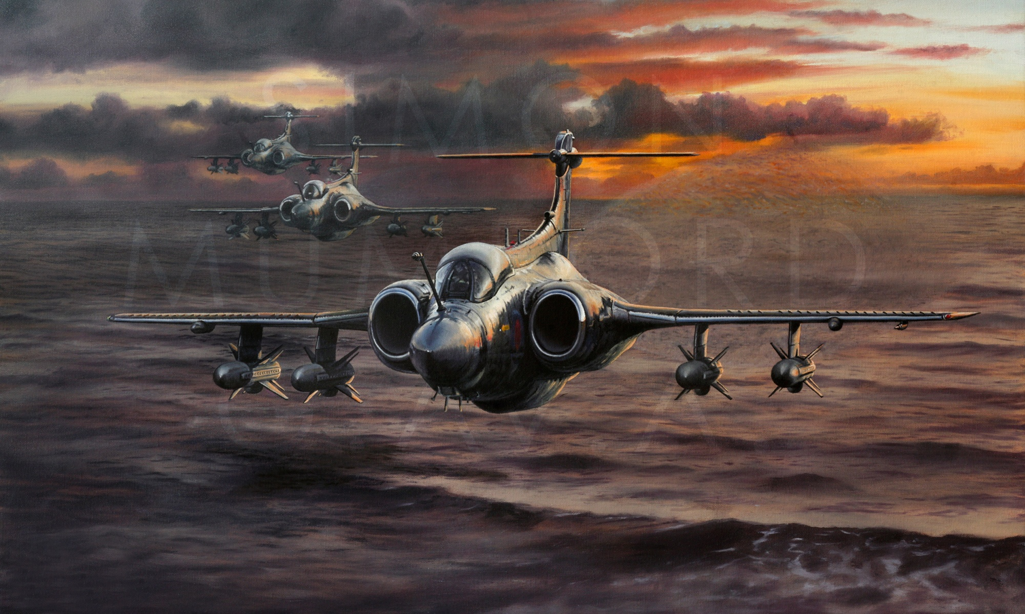 Simon Mumford Aviation Art